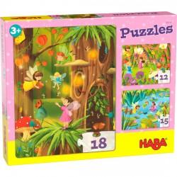 Puzzles Pays des fées...