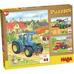 Puzzles Tracteur et Cie.