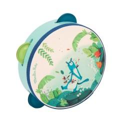 Tambourin bleu Dans la jungle